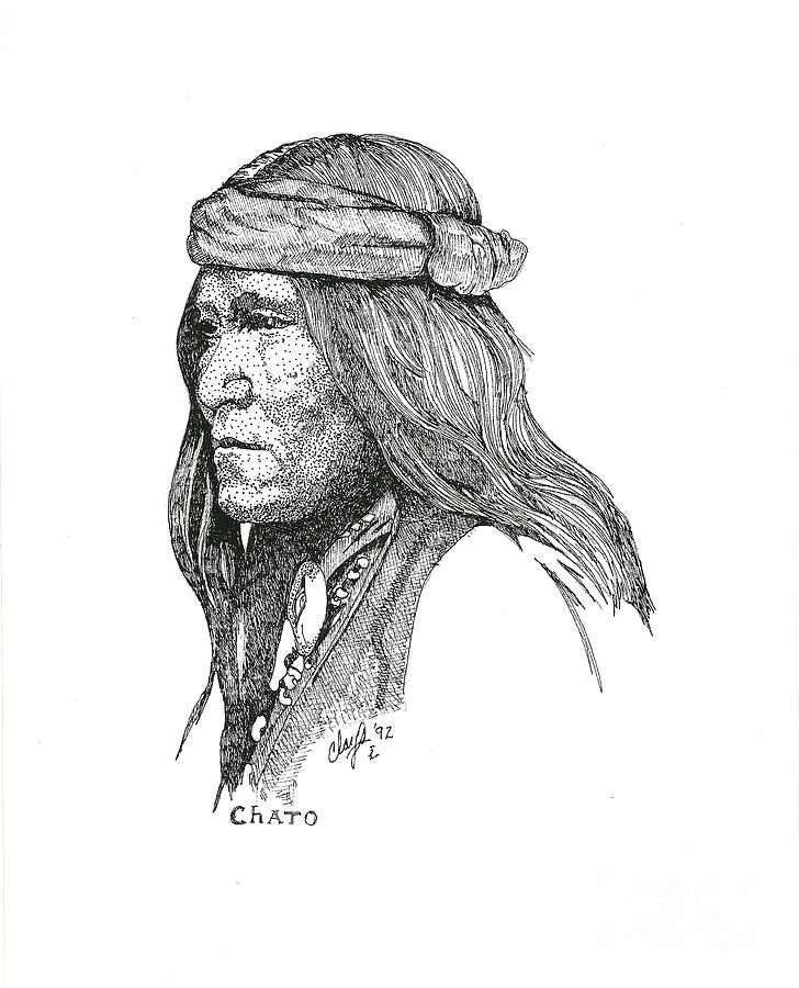 Chato Drawing - Chato by Clayton Cannaday