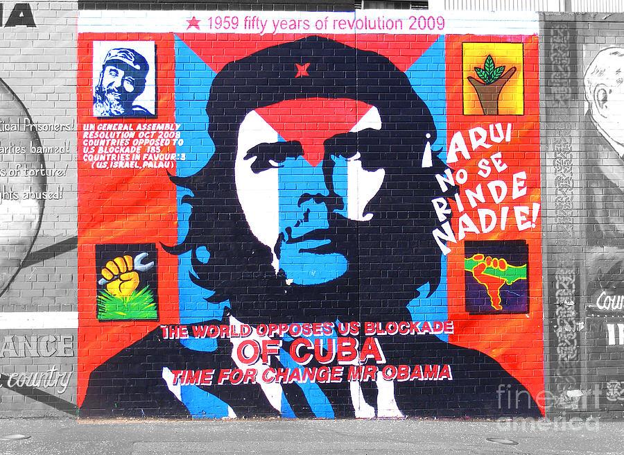 1046.Decoration wall design Design Political POSTER.Che Guevara.Room Wall art