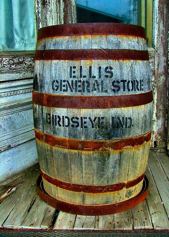 General Store Photograph - Cheap Advertisement by Julie Dant