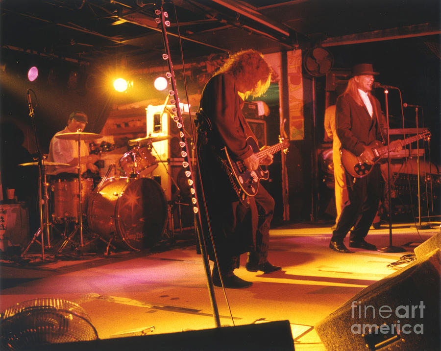 Cheap Trick Photograph - Cheap Trick-93-stage by Gary Gingrich Galleries