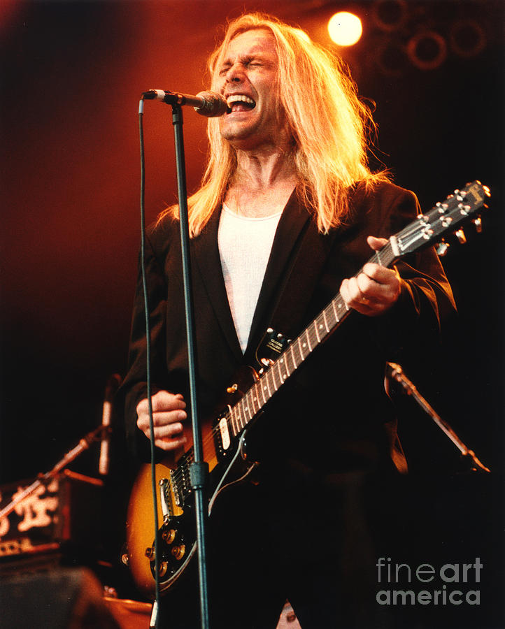 Cheap Trick Photograph - Cheap Trick-95-robin-2 by Gary Gingrich Galleries