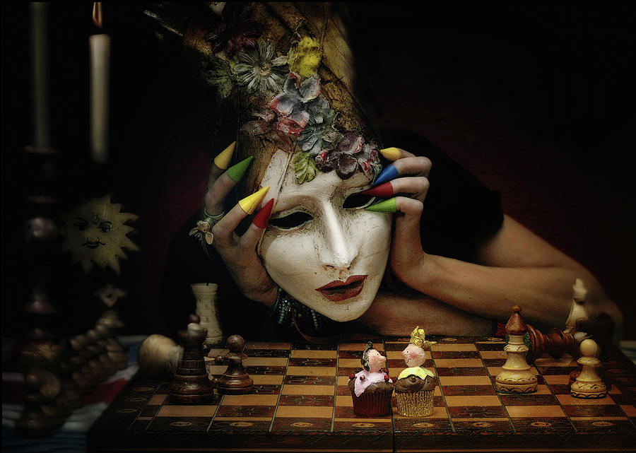 Chess Photograph - Check! by Ambra