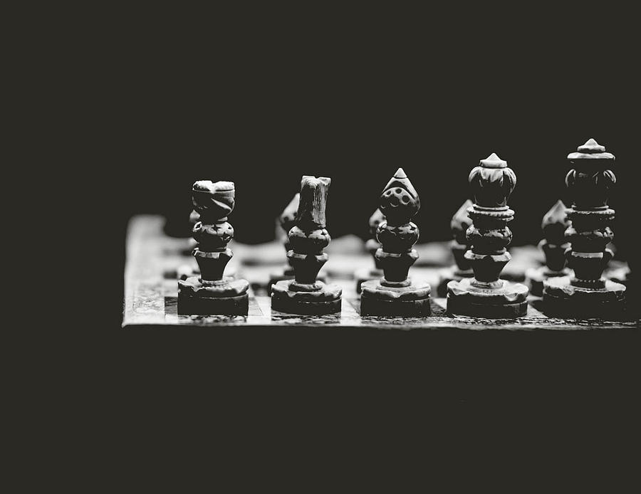 Chess Photograph - Check Mate by Alicia Romano