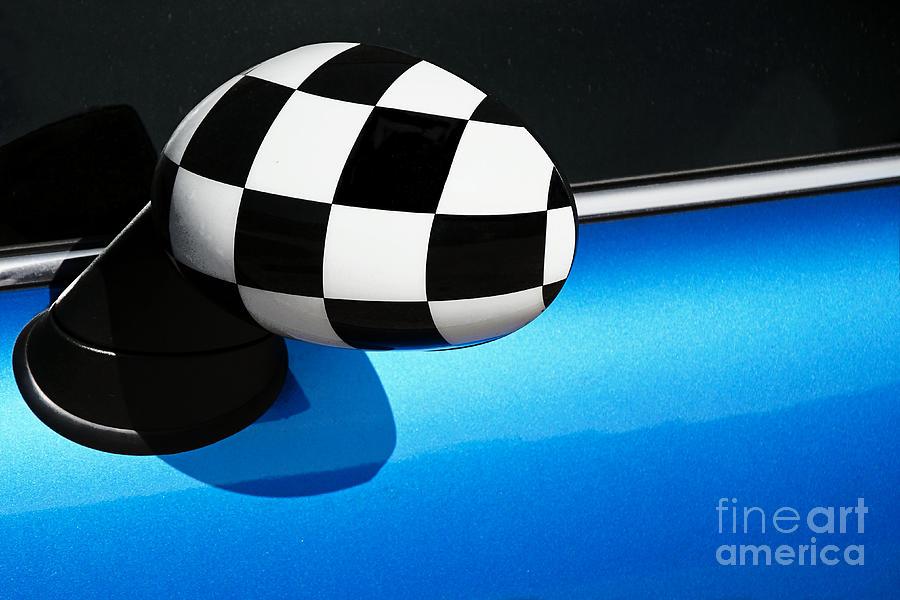 Checkered Photograph - Checkered Finish by Susie Peek