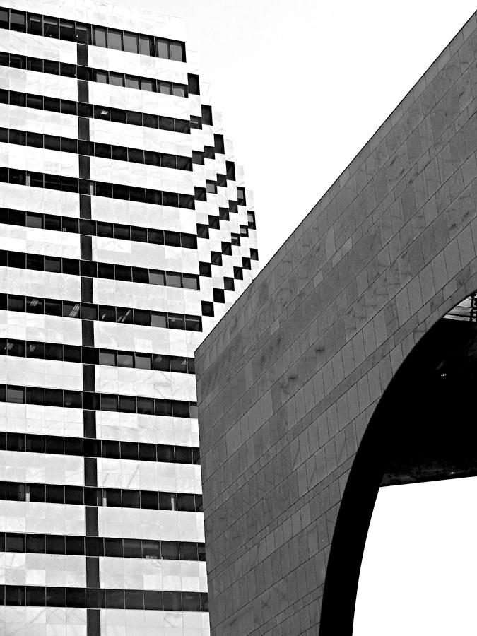 Architecture Photograph - Checkers by Eileen Shahbazian