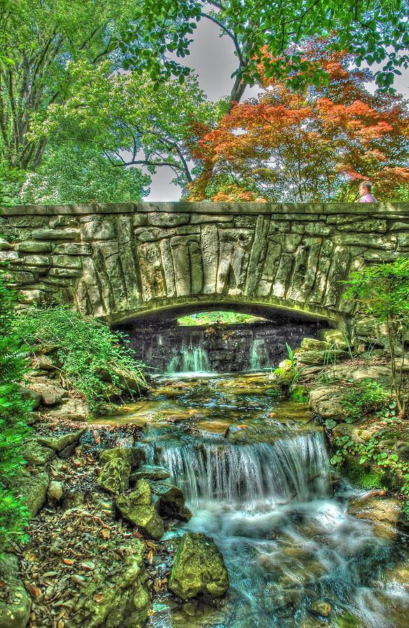Cheekwood Pyrography - Cheekwood Bridge by Zachary Cox