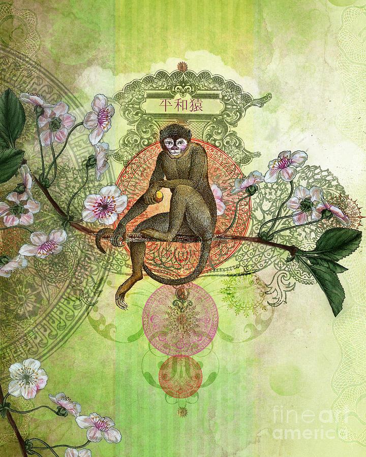 Monkey Photograph - Cheeky Monkey by Aimee Stewart