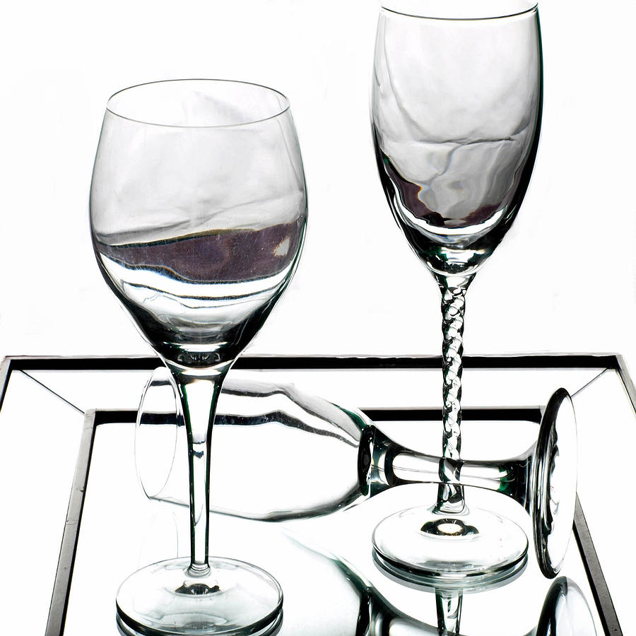 Glass Photograph - Cheers by Camille Lopez