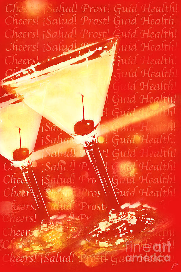 Martinis Photograph - Cheers by Erika Weber