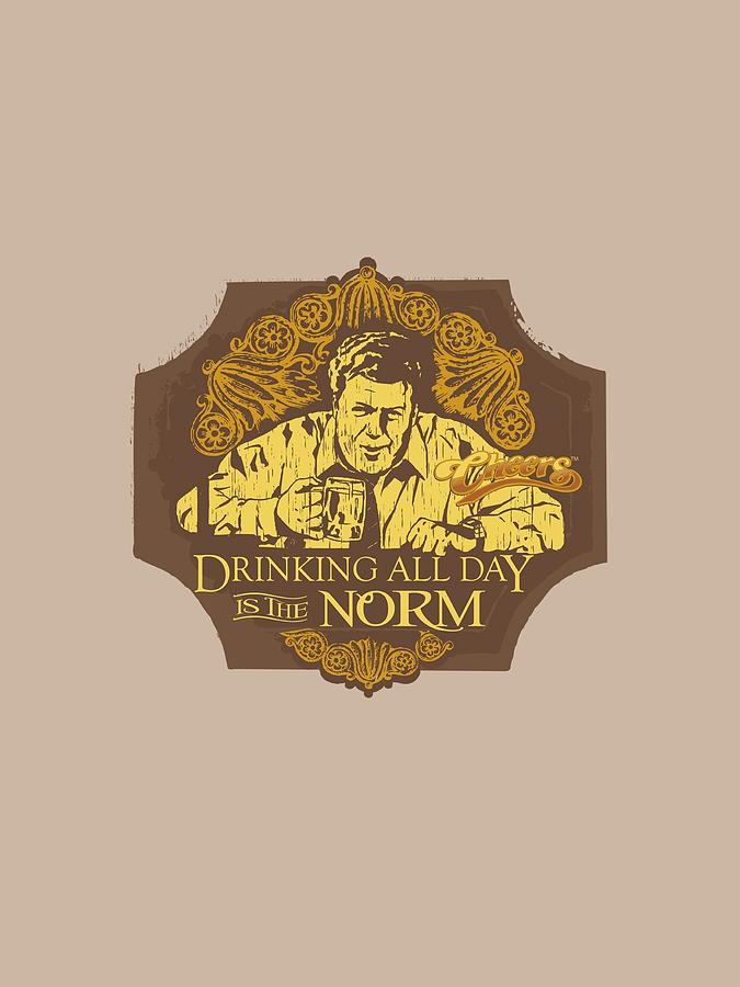 Cheers Digital Art - Cheers - The Norm by Brand A