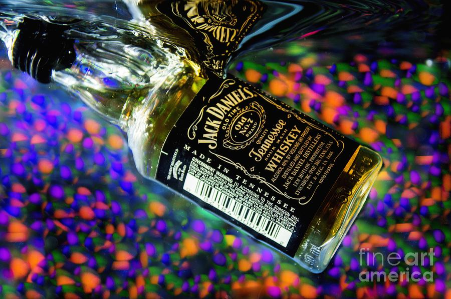 Bottle Photograph - Cheers To Photography by Imani  Morales