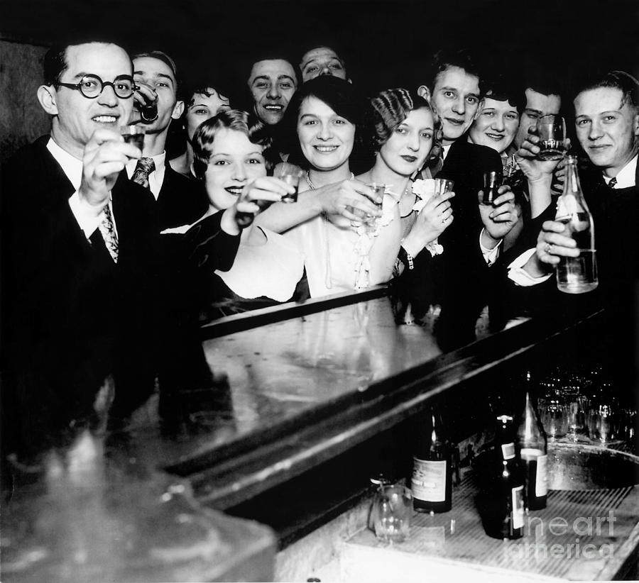 Prohibition Photograph - Cheers to You by Jon Neidert