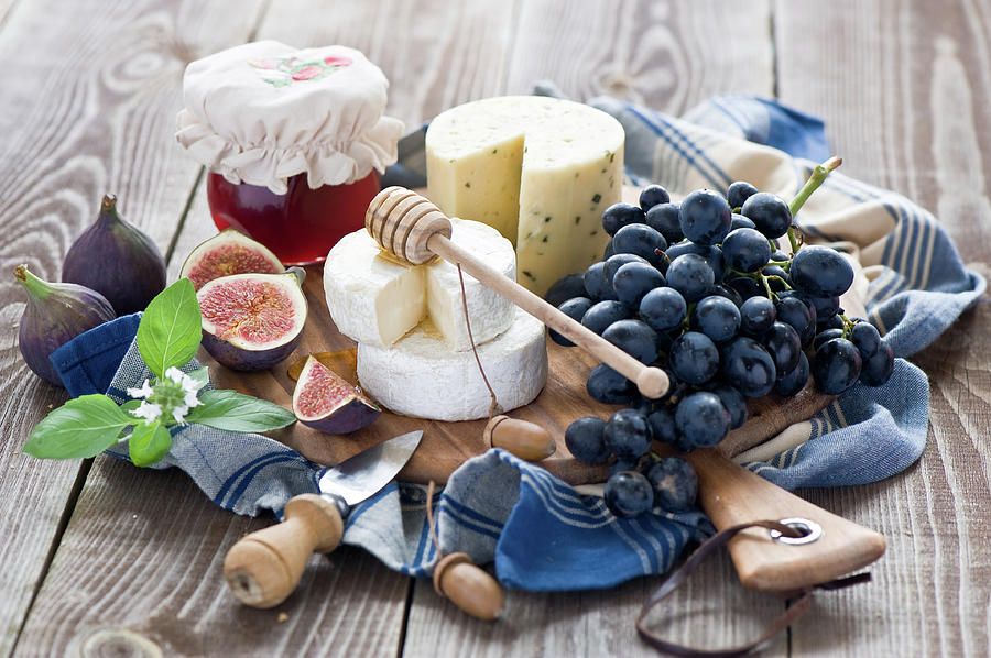 Cheese Board Photograph by Verdina Anna