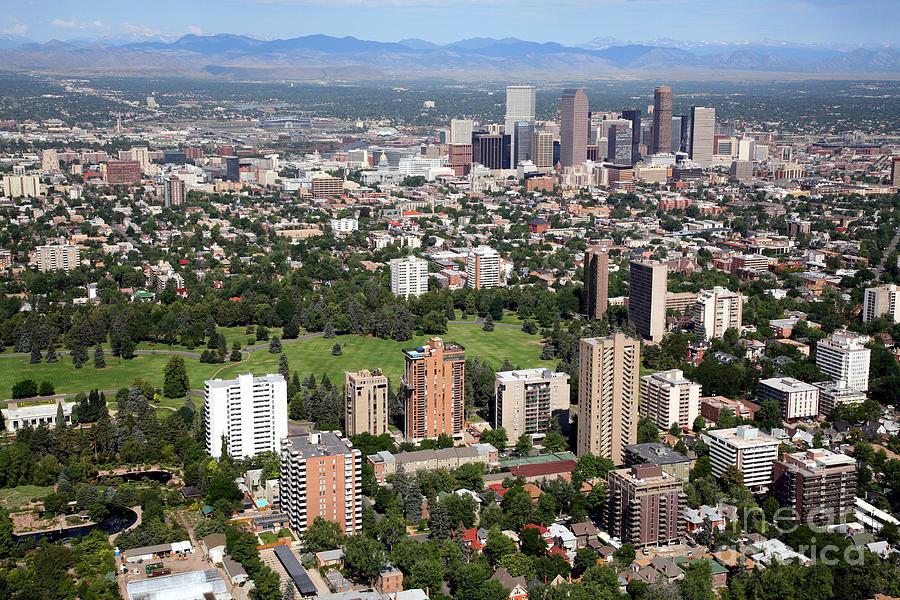 Cheesman Park And Downtown Denver Skyline Photograph by Bill Cobb