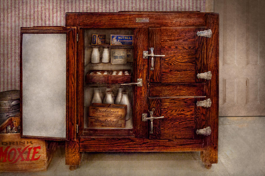 Chef Photograph - Chef - Fridge - The Ice Chest  by Mike Savad