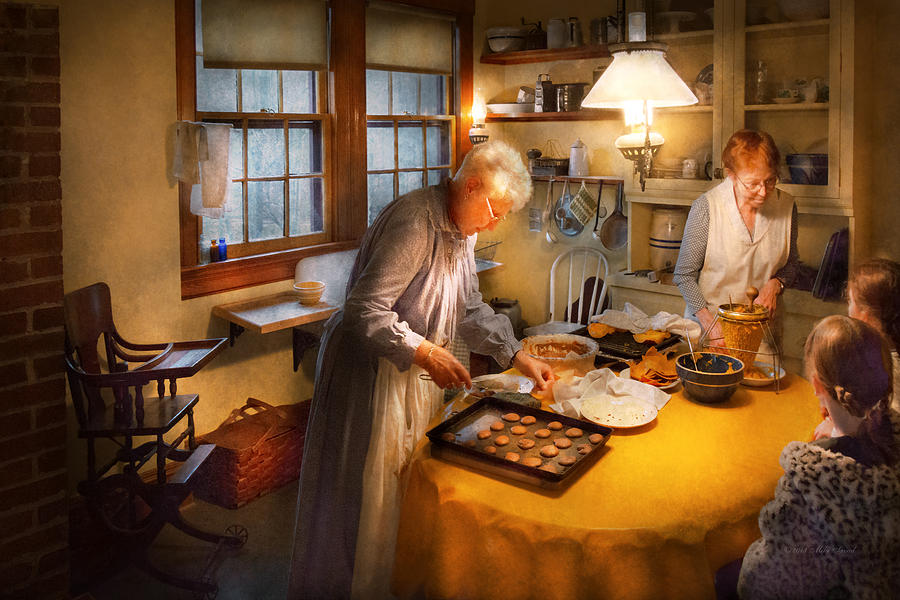 Woman Photograph - Chef - Kitchen - Coming Home For The Holidays by Mike Savad