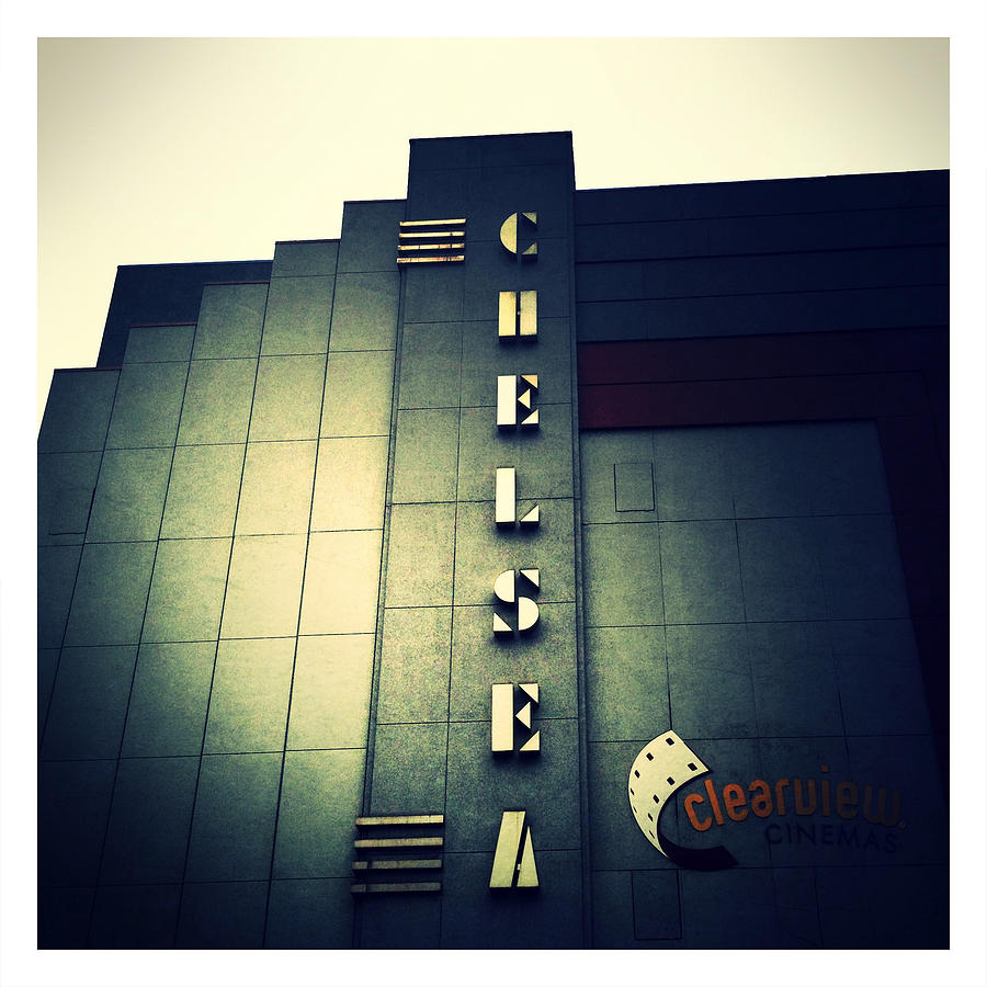Theater Photograph - Chelsea Art Deco Blue by Natasha Marco