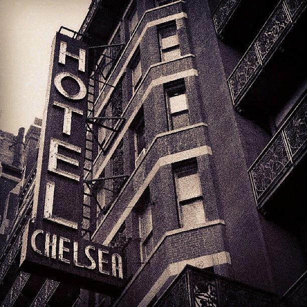Newyork Photograph - Chelsea Hotel. by Harvey Mills