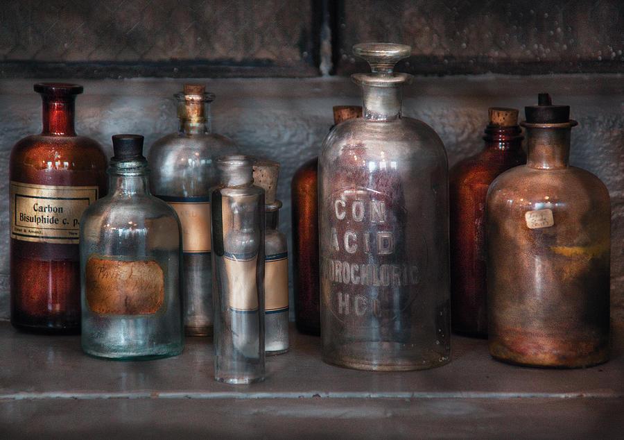 Savad Photograph - Chemist - Things That Burn by Mike Savad