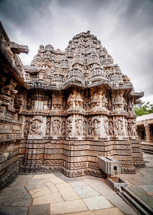 Chennakeshava Temple, Somnathpura, Ka Photograph by Goutam Majumder