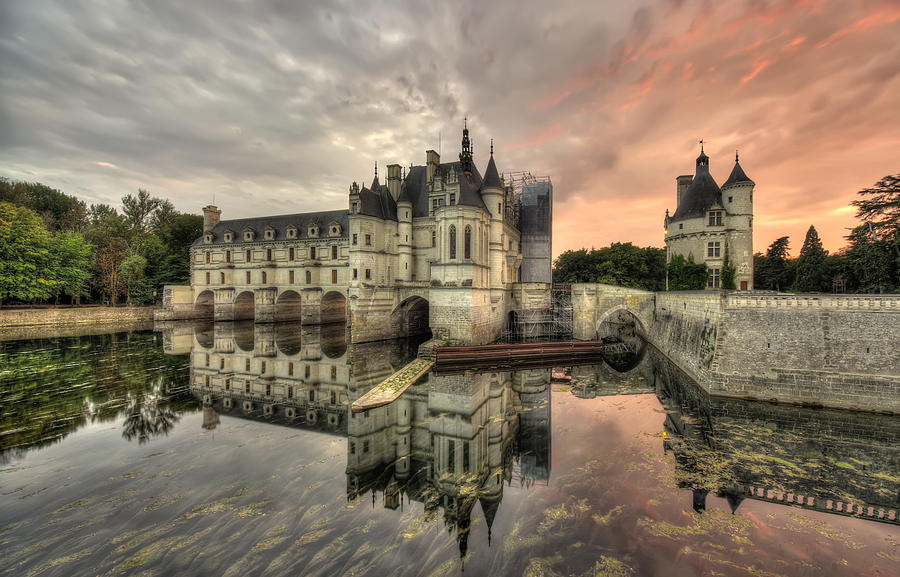 Architecture Photograph - Chenonceau Castle by Ioan Panaite