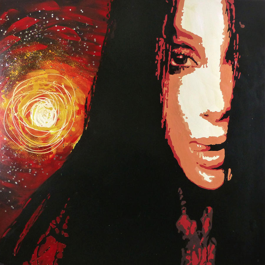 Cher Painting - Cher by Jack Hanzer Susco