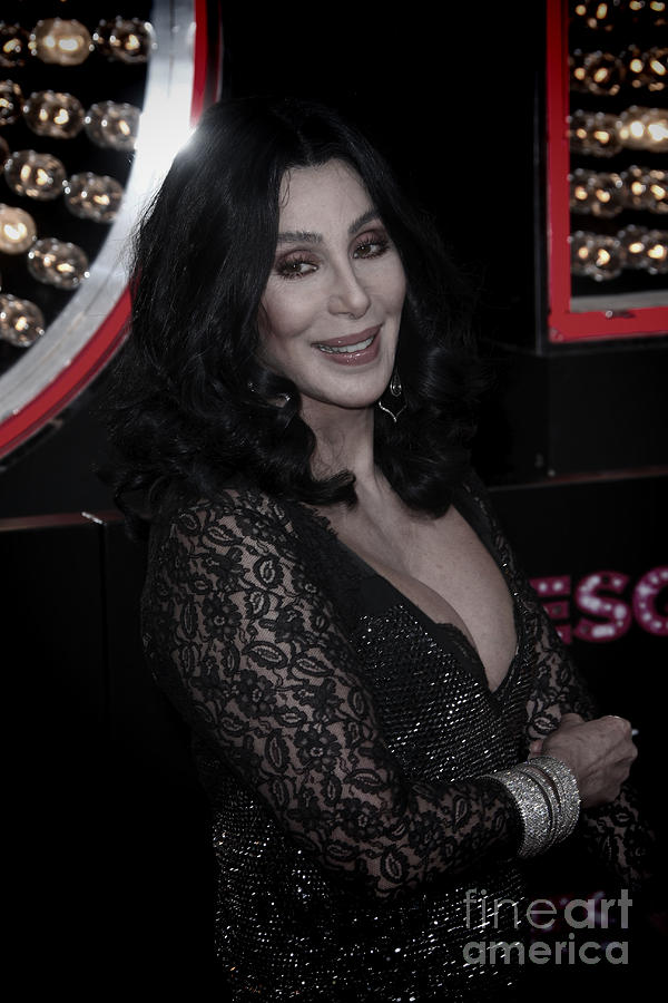Cher Photograph - Cher by Nina Prommer