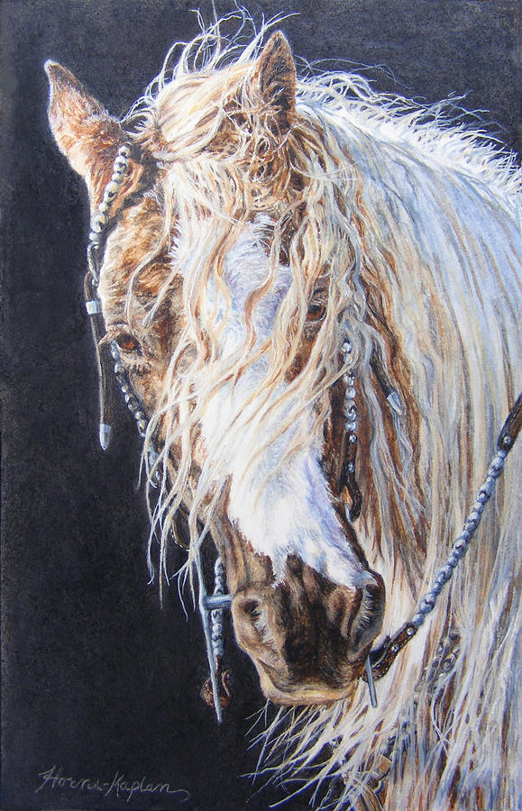Cherokee Rose Gypsy Horse by Denise Horne-Kaplan