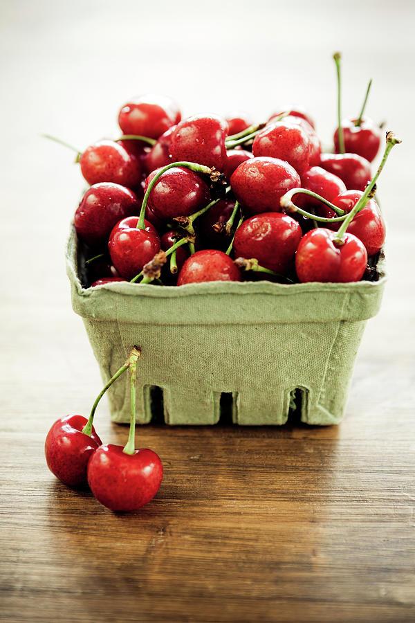 Cherries Photograph by Mmeemil