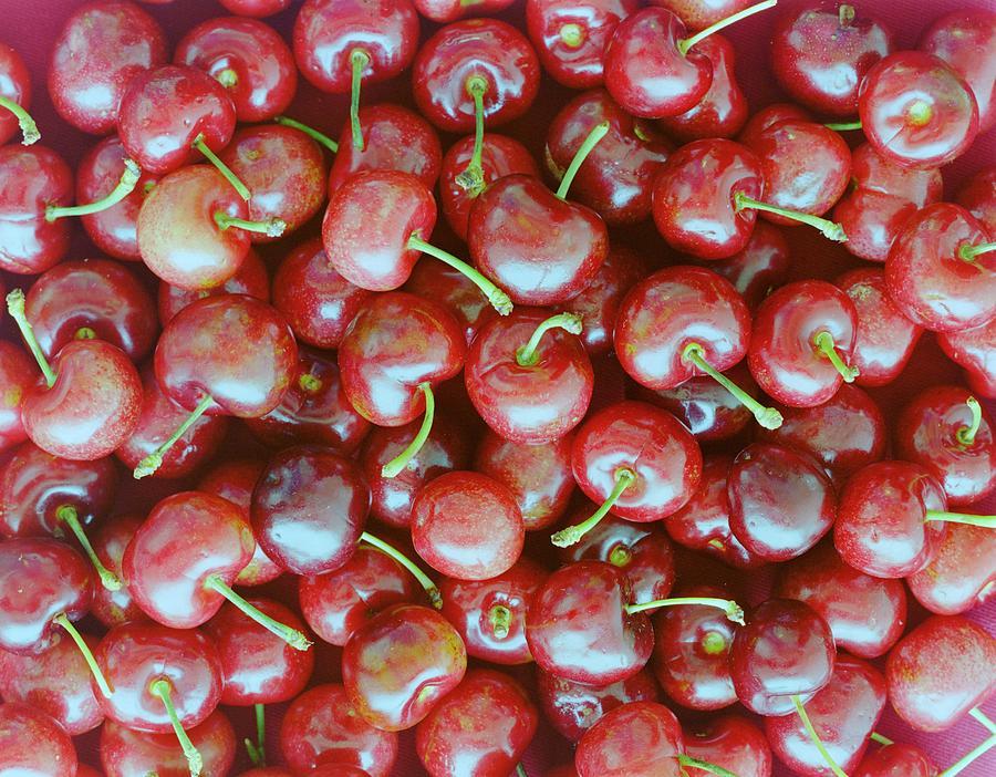 Cherries Photograph by Romulo Yanes