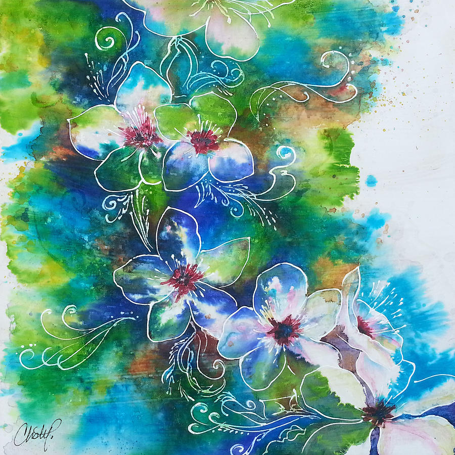 Cherry Blossom Tree by Christy Freeman Stark