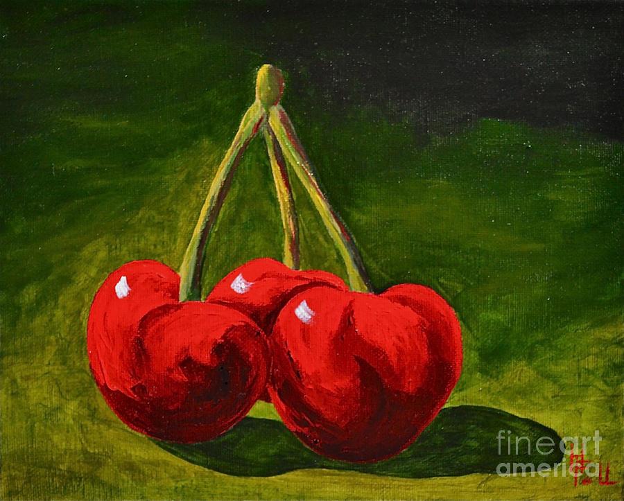 Cherry Delight Painting