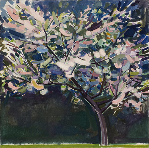 Tree Painting - Cherry Tree by Dena Lyons