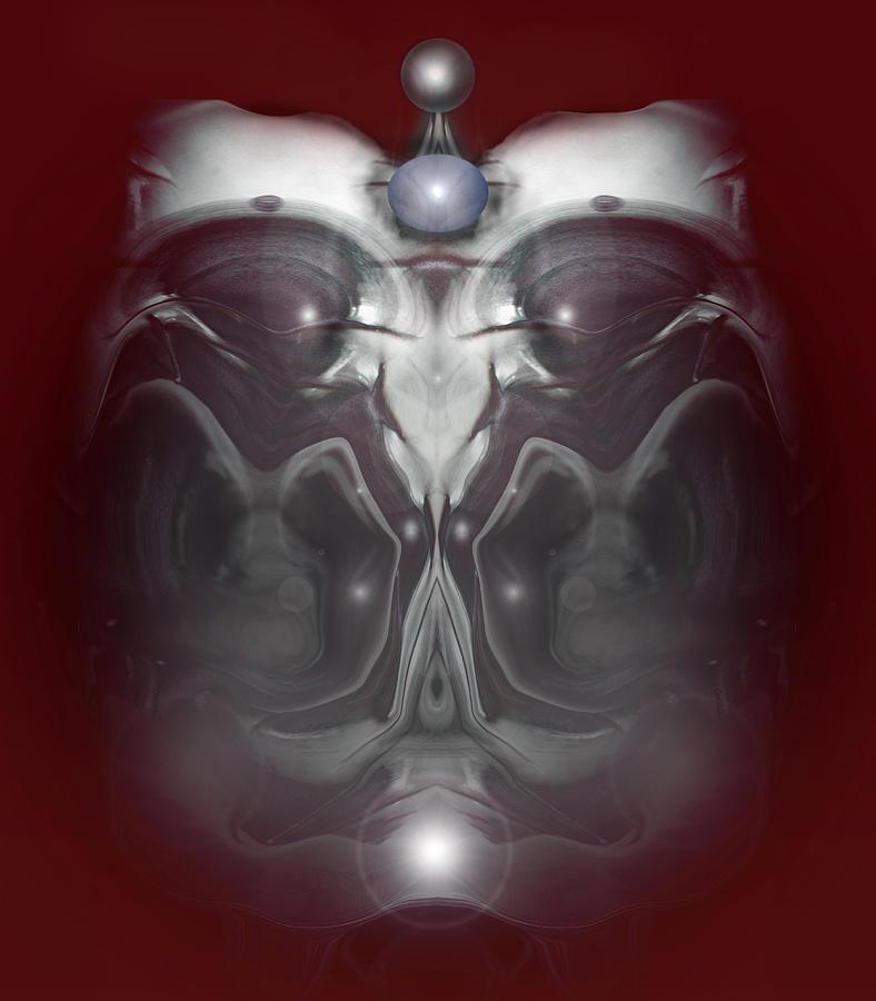 Fantasy Digital Art - Cherub 7 by Otto Rapp