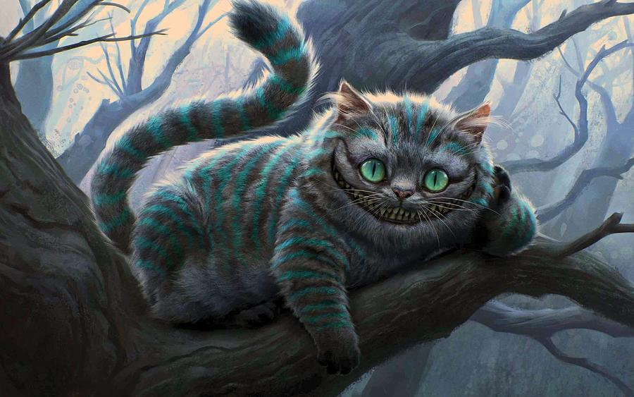 Cheshire Cat Digital Art - Cheshire Cat by Movie Poster Prints