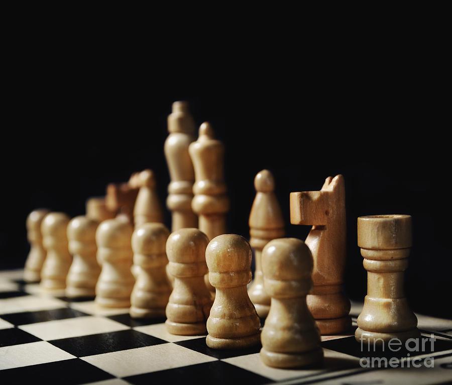 Chess Photograph - Chess by Jelena Jovanovic