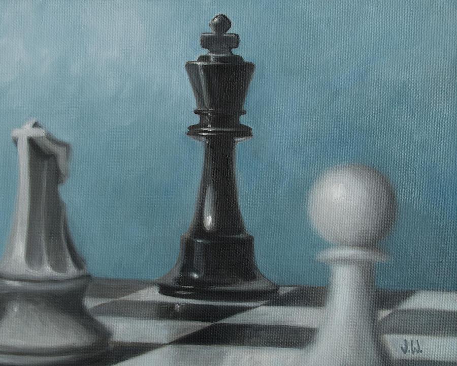 Chess Pieces by Joe Winkler