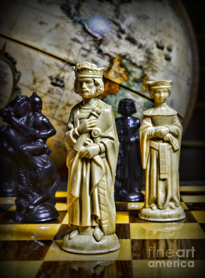 Paul Ward Photograph - Chess - The Sacrifice by Paul Ward