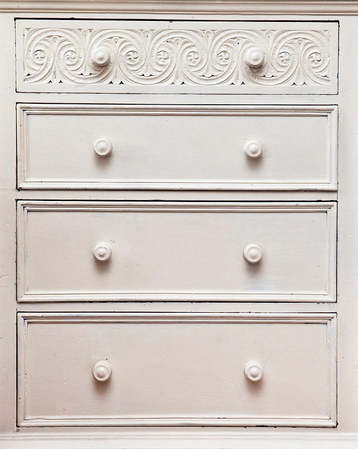 Apartment Photograph - Chest Of Drawers by Tom Gowanlock