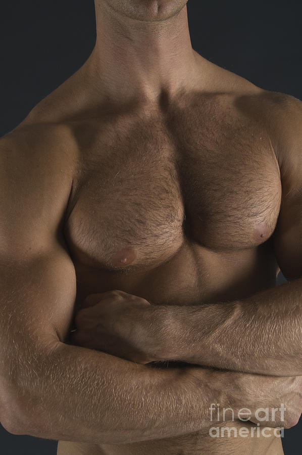 Male Nudes Photograph - Chest by Thomas Mitchell