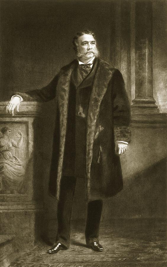 Chester Arthur Painting - Chester A. Arthur by Daniel Huntington