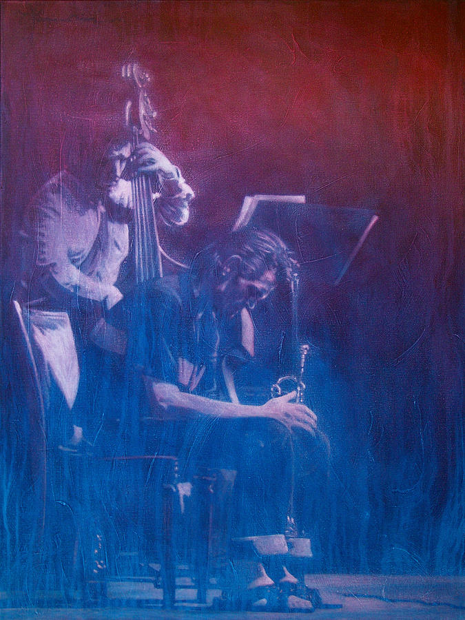 Jazz Painting - Chet Baker by Frans Mandigers