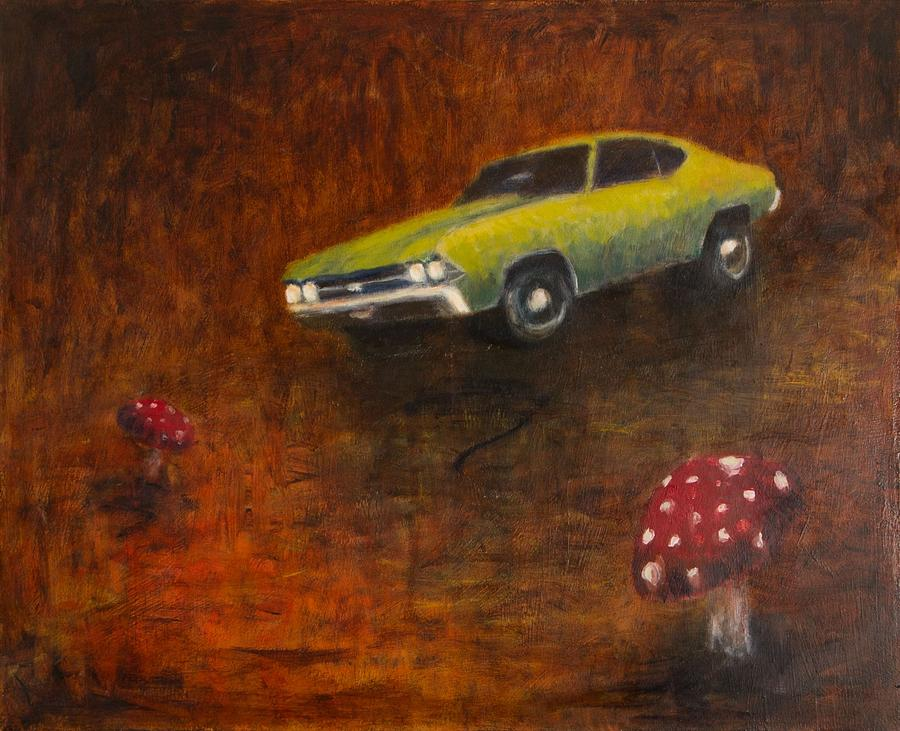 Surreal Painting - Chevelle by Jeff Levitch