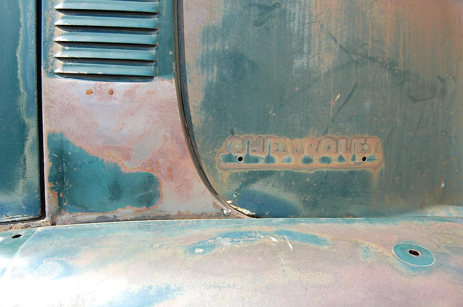 Truck Photograph - Chevorlet Fade by Jame Hayes