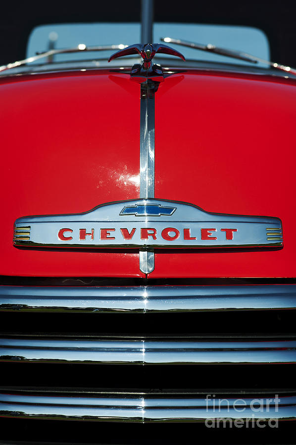 Chevrolet Photograph - Chevrolet 3100 1953 Pickup by Tim Gainey