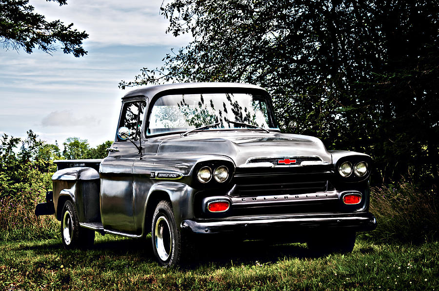 Chevrolet Apache 32 Pick Up Photograph By Geoff Evans
