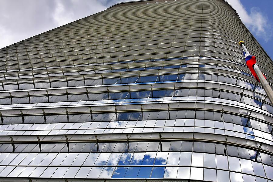 Chevron Photograph - Chevron Corporation Houston Tx by Christine Till