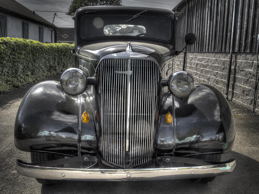Truck Photograph - Chevy by Jean Noren