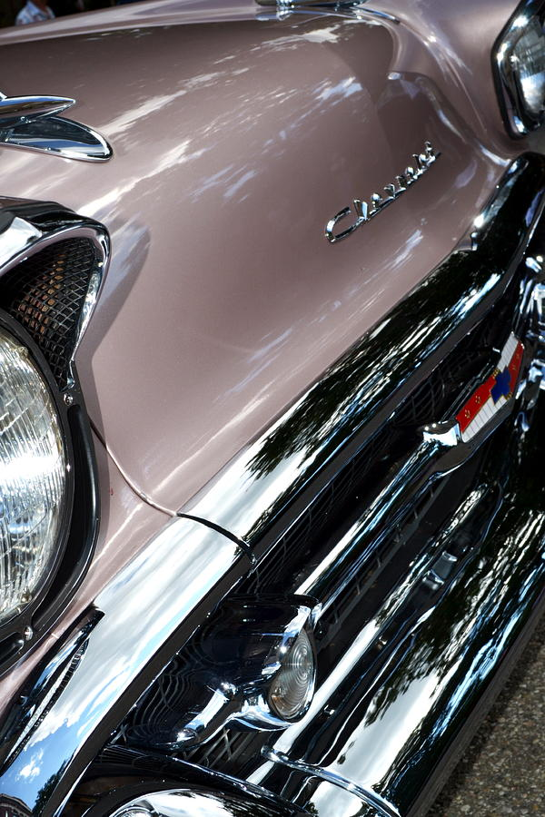 Classic Car Photograph - Chevy by Michelle Calkins