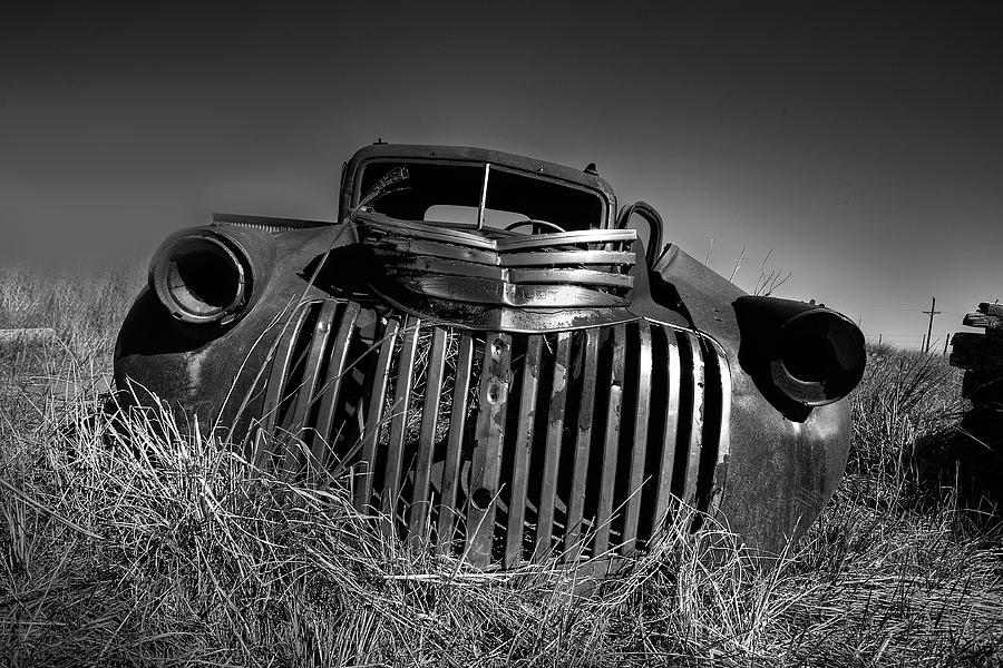 Chevrolet Photograph - Chevy Pickup by Peter Tellone